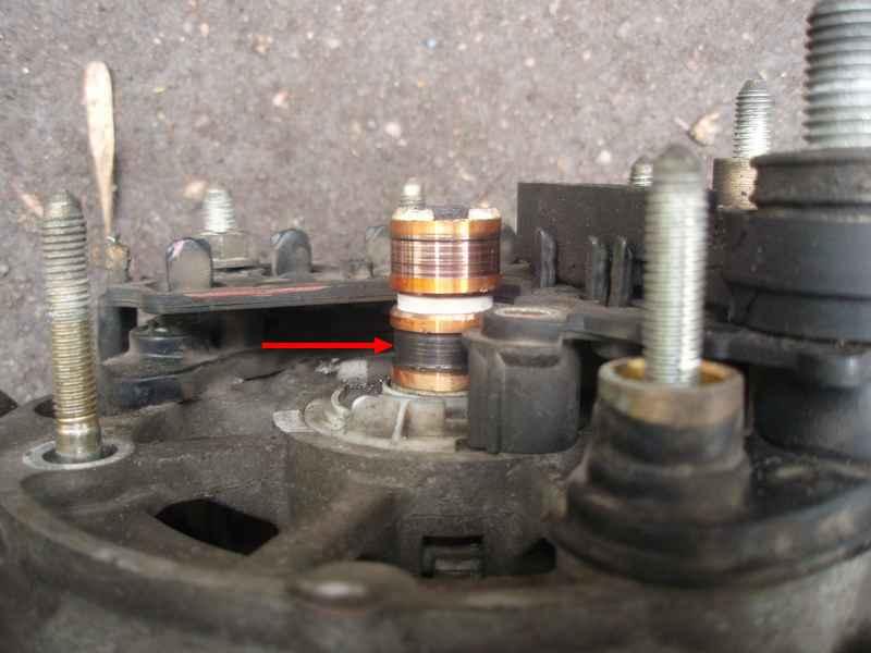 Фото №25 - замена токосъемных колец генератора ВАЗ 2110